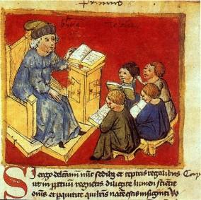 Image result for medieval schoolroom