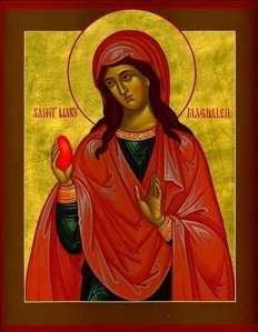 Mary Magdalene and the Red Egg