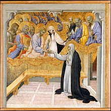 Giovanni di Paolo, The Mystic Marriage of Saint Catherine of Siena
