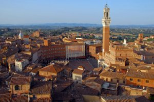 The main square of Siena