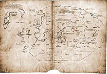 "More likely a fake, this supposedly 15th century map of part of the world, including ""Vinland"" and the North Atlantic has been proven to been made in the 20th century!"