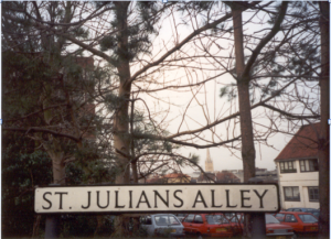 St Julian's Alley in Norwich