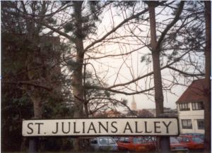 St Julian's Alley in Norwich