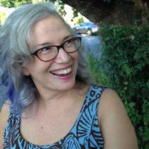 Susan as snapped by her teenage son.