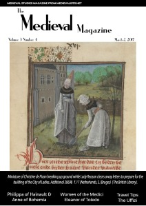 Cover The Medieval Magazine.