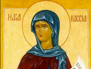Byzantine abbess, poet, composer, and hymnographer Kassia