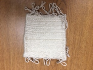 Emily's gorgeous weaving.